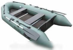 """Лодка моторная ПВХ """"Тайга-320"""" (под мотор 8-10 л. с. ) (цвет зеленый)"""