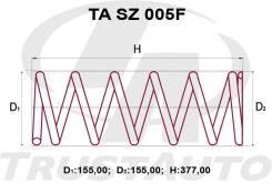 Комплект Пружин +2см Передние Escudo, GrandVitara TD54/TD94