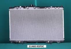 Радиатор Охлаждения Nissan Almera Classic B10 `06- широк клапан. Nissan Almera Classic, B10