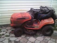 Мини трактор, роторная косилка.