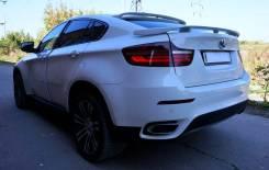 Спойлер на крышу. BMW X6