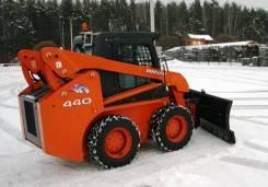 Отвал снеговой для минипогрузчиков Bobcat Mustang