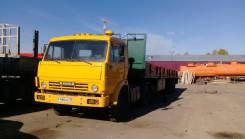 КамАЗ 5410. Продам седельный тягач Камаз с полуприцепом 12 м, 20 000кг., 6x4