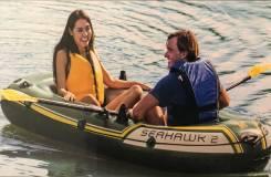 Надувная лодка, 2 местная