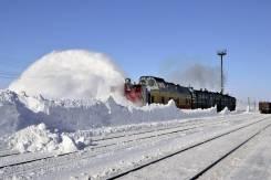 Снегоочиститель железнодорожный ЭСО