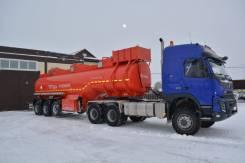 Volvo FMX13. Продам автомобиль Volvo FM Truck 6x6 с полуприцеп-цистерной, 13 000куб. см., 120 000кг., 6x6