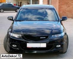 Реснички (накладки) фары Honda Accord 7 (Хонда Аккорд) 2002-2007г