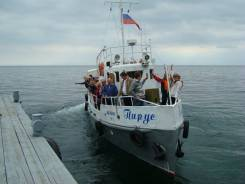 """Теплоход """"Парус"""", проект № 1439, 150 л. с., пассажировместимость 10 чел"""