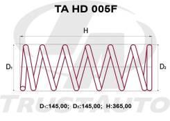 Комплект Усиленных +2см Пружин Honda HR-V GH3/GH4