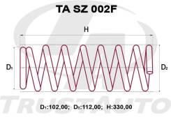 Комплект Усиленных +2см Пружин Escudo TA02, TD02, TD32, TD52, TD62, TL52