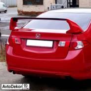 """Высокий 3х составной спойлер """"Mugen"""" на Honda Accord 8 2008-2012г"""