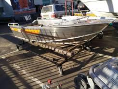 Алюминиевая лодка Wellboat-42
