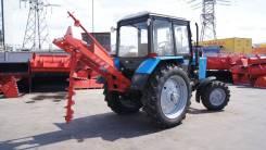 Ямобур навесной для трактора в комплекте с карданом и шнеками