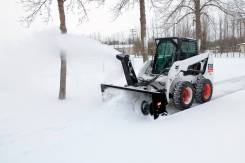 Снегоочиститель на BobCat Mustang Forway
