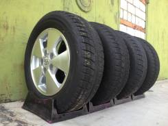 "Toyota + Bridgestone 195/65/15 Япония б. п. по РФ. 6.0x15"" 5x114.30 ET50 ЦО 60,1мм."