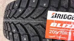 Bridgestone Blizzak Spike-01. Зимние, шипованные, 2018 год, без износа, 4 шт