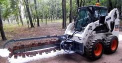 Траншеекопатели бара на BobCat Mustang ANT