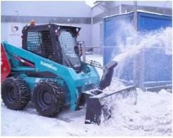 Снегоочистители для минипогрузчиков