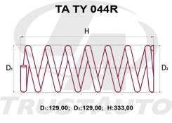 Комплект Усиленных +2см Пружин Toyota Ipsum/Gaia SXM10/CXM10