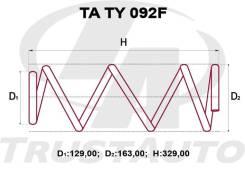 Комплект Усиленных +2см Пружин Toyota Prius NHW20