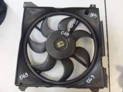 Вентилятор охлаждения радиатора. Hyundai Trajet D4BB