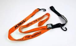 Стяжки для крепления мотоцикла (пара) R-Tech 38мм х 2м оранжевые