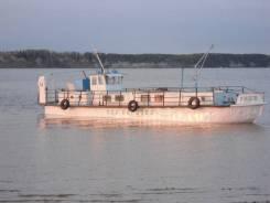 Судно для туризма и рыбалки