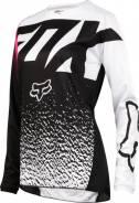 Джерси подростковая Fox 180 Girls Youth Jersey Black/Pink размер: L (19450-285-L)