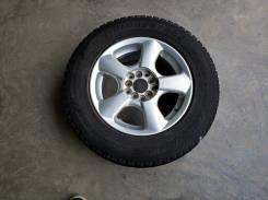 """На запаску 205/70/15 Bridgestone DM-Z3. 6.5x15"""" 5x100.00, 5x114.30 ET48 ЦО 73,0мм."""