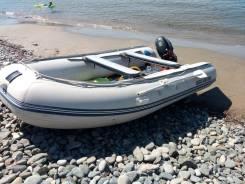 ПВХ лодка solar 420 с мотором сузуки 20 л/с