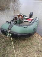 Резиновая лодка с мотором