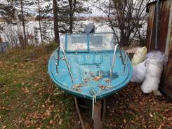 Лодка Амур Д с мотором