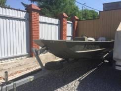 Продам алюминиевую лодку Crestliner с мотором Suzuki и прицепо