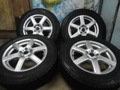 """Продам Стильные колёса Bridgestone Toprun+Зима 225/65R17Toyota, Nissan. 7.0x17"""" 5x114.30 ET38"""