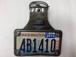 Рамка с американскими номерами из карбона Yamaha YZF R1