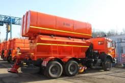Завод ДМ. Дорожно-комбинированная машина ЭД-405Б на шасси Камаз-65115, 12 000куб. см.