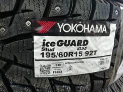 Yokohama Ice Guard IG55. зимние, шипованные, 2019 год, новый