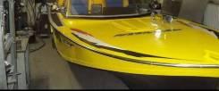 Покраска лодок катеров