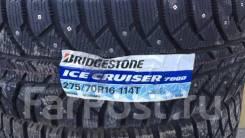 Bridgestone Ice Cruiser 7000. Зимние, шипованные, 2018 год, новые