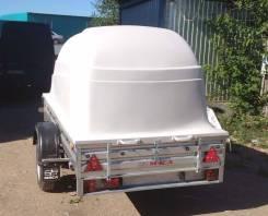 Прицеп МЗСА-817701.012 в комплекте с пластиковой крышкой
