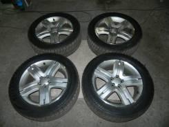 "Комплект колёс Enkei для Subaru c резиной Bridgestone VRX 215/55R17. 7.0x17"" 5x100.00 ET48"