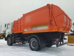 МАЗ. Мусоровоз контейнерный МК-3512-02 -534025-585-013, 6 000куб. см.
