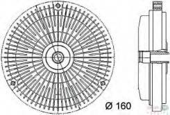 Муфта гидравлическая HELLA арт. 8MV376732-001