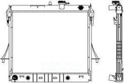 Радиатор Hummer H3 06-10 30811009 Sakura арт. 30811009