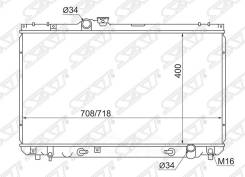 Радиатор Toyota Chaser/Cresta/Verossa/Mark Ii #Zx100/#Zx110 2.0/3.0 96- Sat арт. TY0005-100
