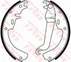 Колодки тормозные барабанные задн opel: ascona a 70-75, ascona a voyage 70-75, ascona b 75-81, commodore a 67-72, commodore a купе 67-72, commodore b...