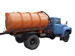 Вакуумная цистерна КО-520 ЗИЛ для ассенизатора