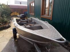 Лодка Wellboat 37 с мотором suzuki DF15A