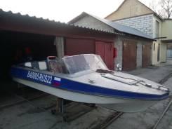 Лодка Обь с мотором
