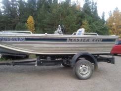 Лодка Мастер 440 под водомет